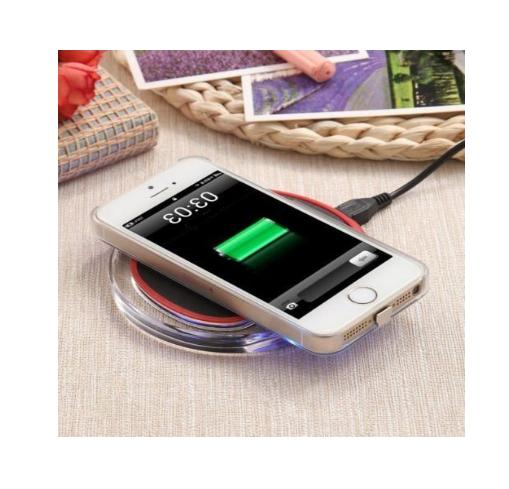 New Wireless Charger Clear Charging for iPhone & Samsung,Moto Phones