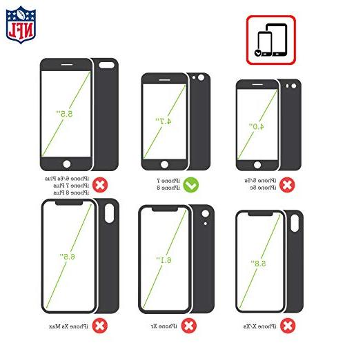 Official NFL Marble Gel 7 iPhone 8
