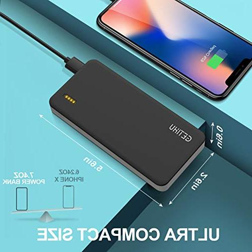 Charge 10000mAh USB Quick Bank 18W & Output Battery Pack Iphone XS X 8 Plus Samsung Galaxy Nintendo Switch