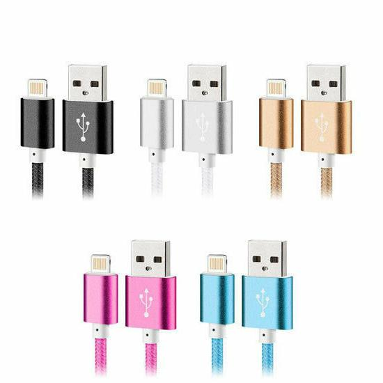 Phone Lightning Data Cable for X 6s/6