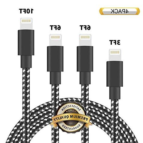 phone charger nylon braided usb