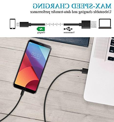 Micro Xbox Cable,Durable USB Android Fast Charging Cord Data Sync For galaxy S6 S7 5/4,Sony,LG,MOTO,Nokia,HTC,Echo Dot,Camera