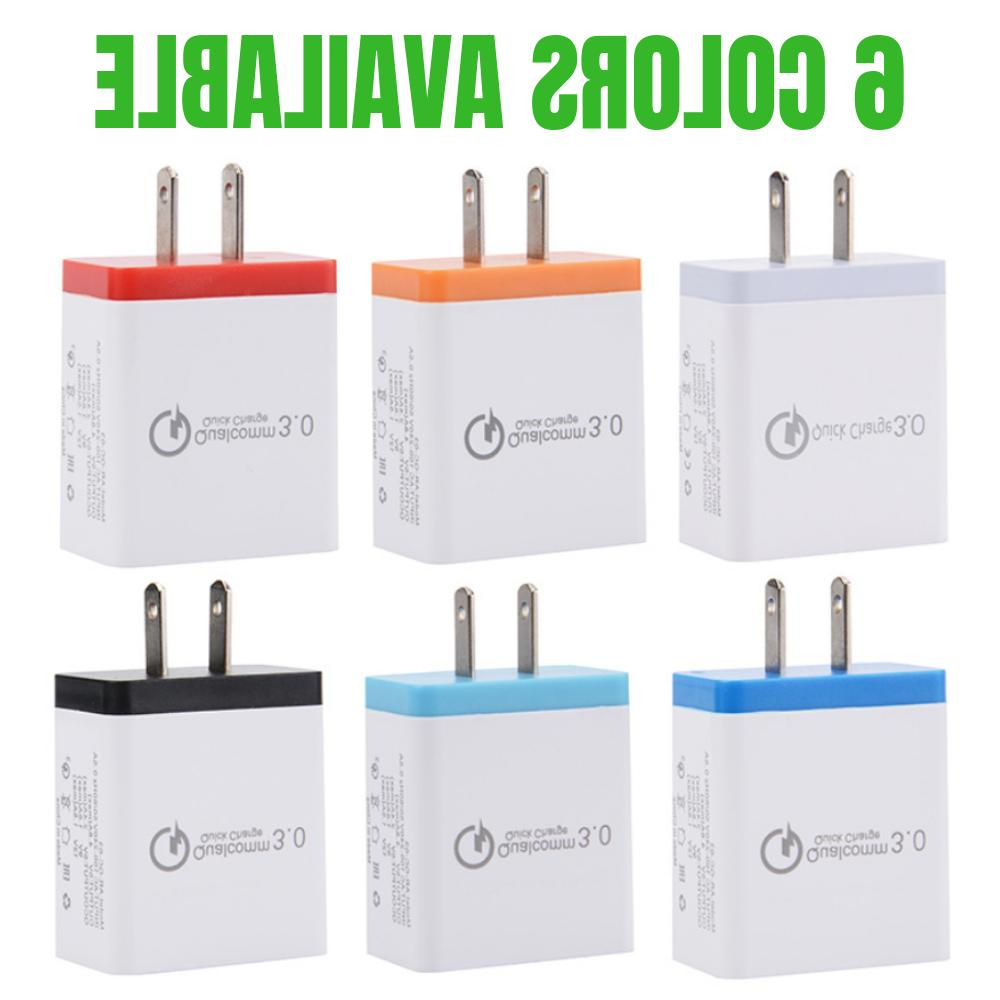 QC 3.0 Fast USB Wall Charger Charging Adapter X