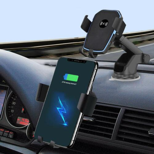 Qi Wireless Car Charger Stand in For