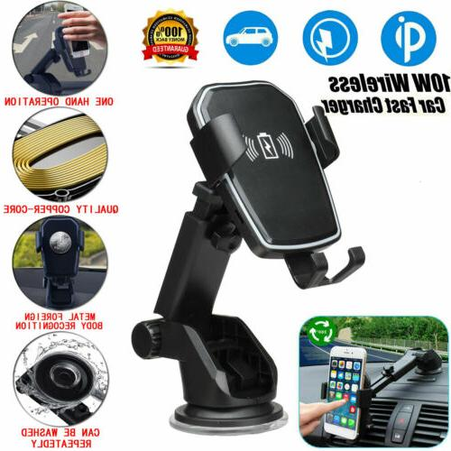 Qi Car Mount Stand For