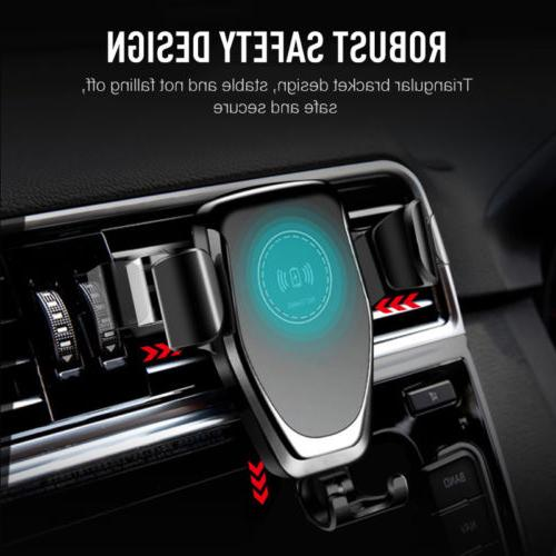 Real Fast Wireless Charger Car Mount X 8 Lot#