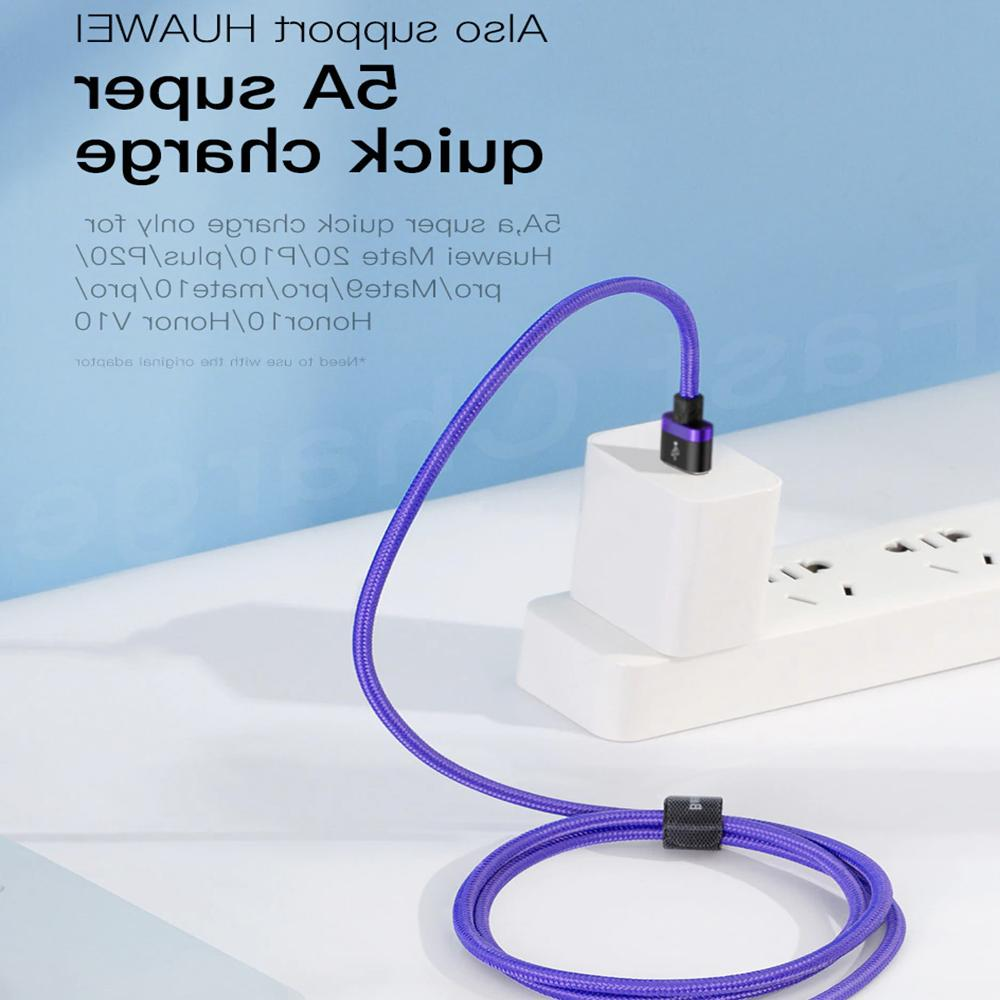 Samsung Plus S9 9 Type-C 40W 5A Charger Cable