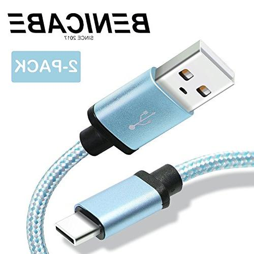 Samsung Galaxy S8 Charger, Benicabe USB Type C