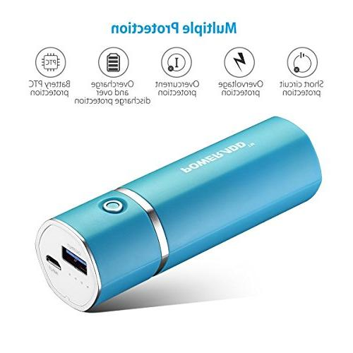 Most Battery Ouput Portable Charger Smart for iPad, Samsung Galaxy, HTC -