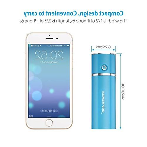 Most Compact Battery 2.1A Ouput Charger with Charge for iPad, Galaxy, More - Blue