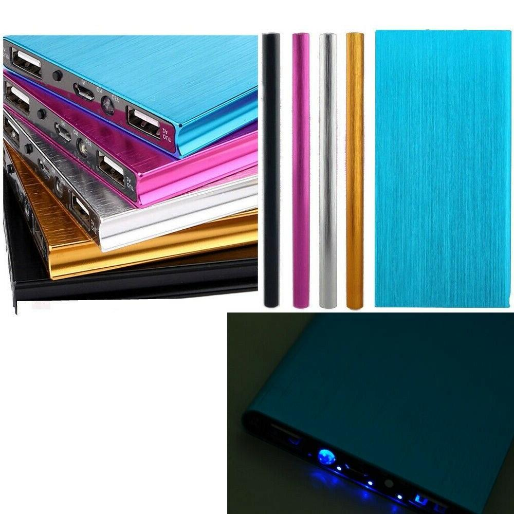 Ultrathin 20000mAh Portable External Battery Bank for Cell Phone