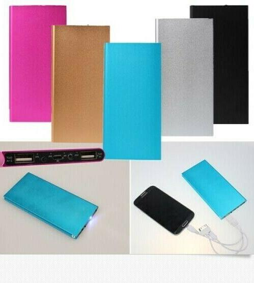Ultrathin Portable Battery Charger Power for Cell Phone