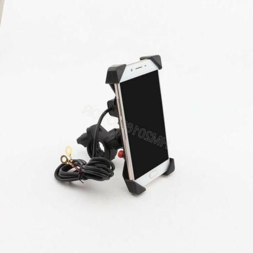 Universal Motorcycle Phone Handlebar Mount Holder