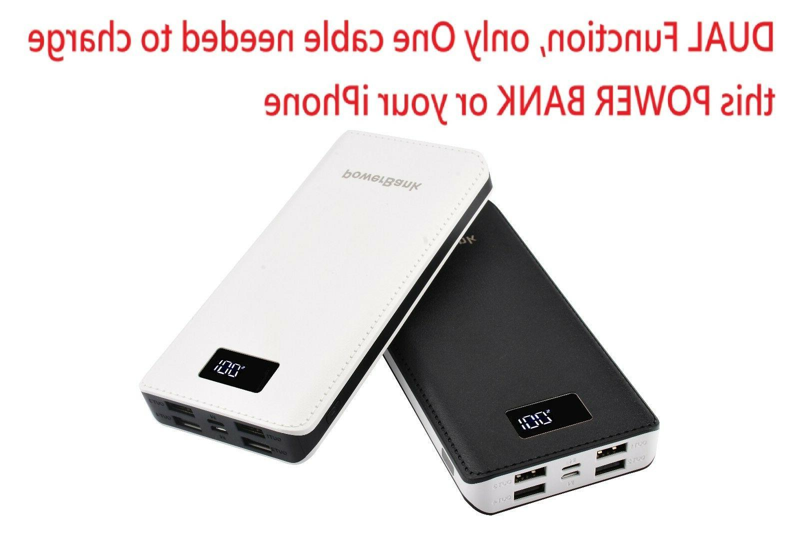 USA Bank USB Battery Charger For Mobile Phone