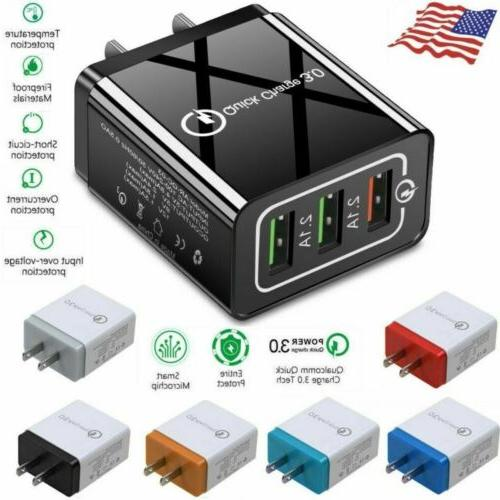 USB Hub Charger Adapter iPhone Android Samsung