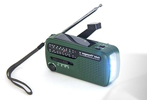 Best Crank Shortwave NOAA Emergency Radio with Cell Charger Flashlight