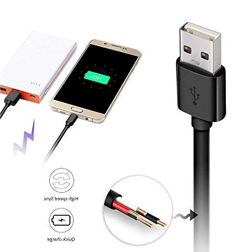 Android Phone Fast Charger Long Galaxy Note 5/4/2, G4,