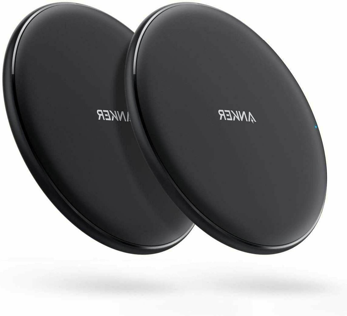 Anker Wireless Charger, Pack Qi-Certified, 7.5W