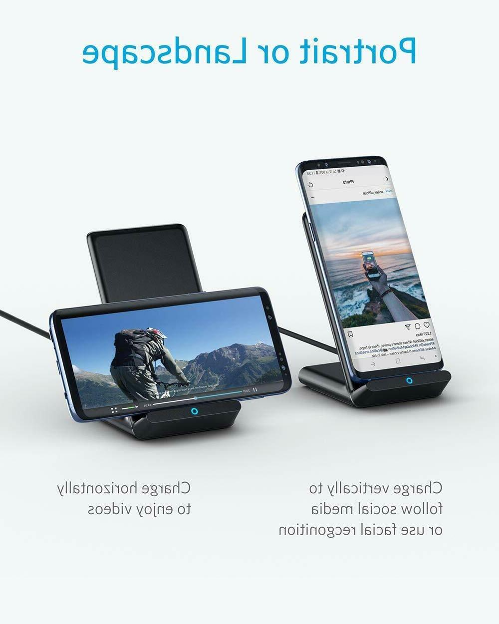 Wireless Charging Dock Stand Samsung
