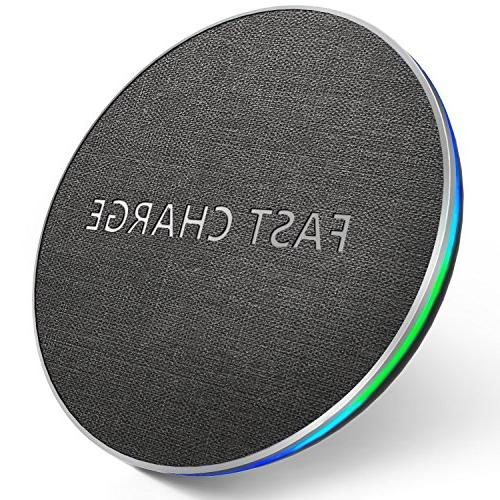 wireless fast charger qi certified phone charging