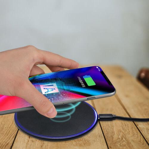 wireless phone fast charger qi 10w pad