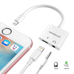 Lightning to 3.5 mm Headphone Jack Adapter, Excellenter Ipho