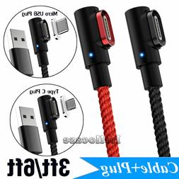 Magnetic Charger IOS Micro USB Type C Plug Cable For Android