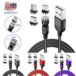 Magnetic Phone Charger Cable USB Charging Cord For iPhone Ty