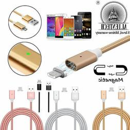 Magnetic Type-C Micro USB Fast Charging Charger Cable for Sa
