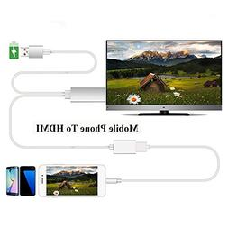 Efanr USB to HDMI Media 1080P HDTV Audio Adapter Cable Unive