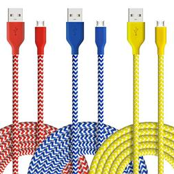 Fasgear Micro USB - Durable Charging Cables  for Samsung, N