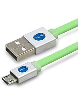 Micro USB Cable, Extra Long Flat Micro USB 2.0 Charger Cord,