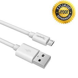 Gembonics 6.5ft Premium Micro USB to USB Cable High Speed US