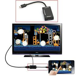 Mini Micro USB 2.0 MHL To HDMI Cable HD 1080P For Samsung Ga