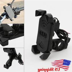 motorcycle handlebar cell phone mount holder