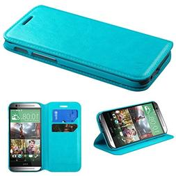 Asmyna MyJacket Wallet with Tray for HTC One M8 - Retail Pac