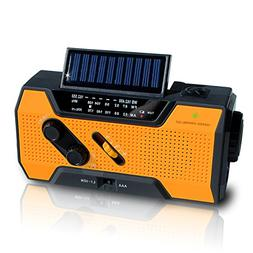 NOAA Weather Radio | Solar Emergency Survival Device with AM