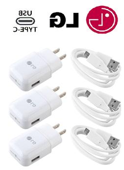 OEM Adaptive Rapid Fast Charger Type-C Cable Original LG Sty