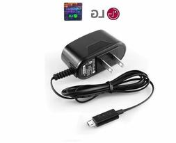NEW OEM LG Micro USB AC Travel Home Wall Charger Adapter for