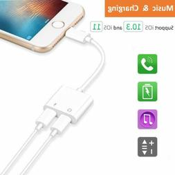For Phone X 8 7 Charging Lightning Earphone 4in1 Cable Charg