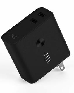 Portable Phone Wall Charger 2-in-1 USB Power Bank Battery 10