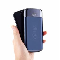 Quslly 20000 mAh Portable Power Bank with 2 USB ports Mobile
