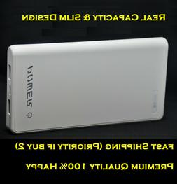 Premium Power Bank 12000mAh Slim Portable Battery Fast Charg