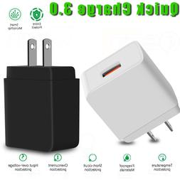 QC 3.0 Quick Charger Fast Charging Power Wall Adapter For iP