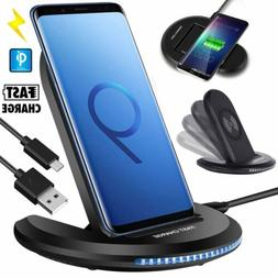 Qi Wireless Charger Car Charging Phone Mount Holder For iPho
