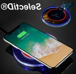 Qi Wireless Fast Charger Charging Pad Dock for iPhone Samsun