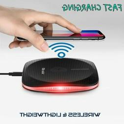 qi wireless fast charger charging pad dock
