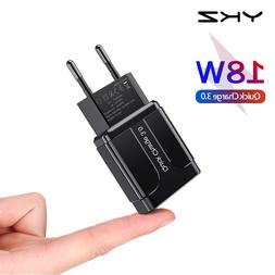 YKZ Quick Charge 3.0 18W QC 3.0 4.0 Fast <font><b>charger</b
