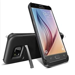 S6 Battery Case, SQdeal 4200mAh Rechargeable External Backup