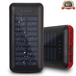 Solar Charger 26800mAh Portable Charger,Coeuspow Solar Power